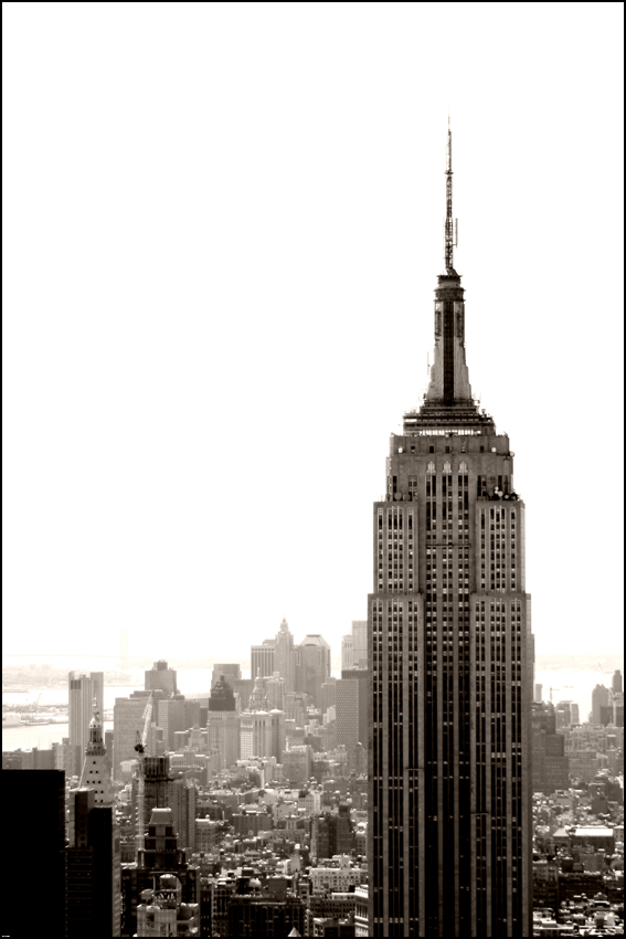 New York Empire State Building by LaCaroratcha