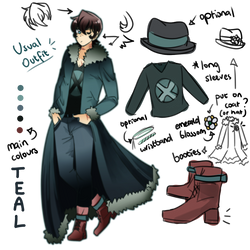 N.S Reference Sheet - Teal Castemillia