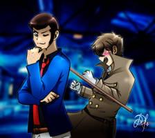 Lup and Kuro-Tan