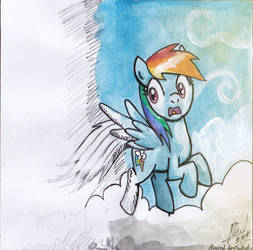 [From Scratch to Art] Rainbow Dash