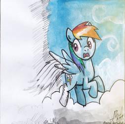 [From Scratch to Art] Rainbow Dash