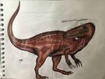 Ostafrikasaurus crassiserratus by spinocario