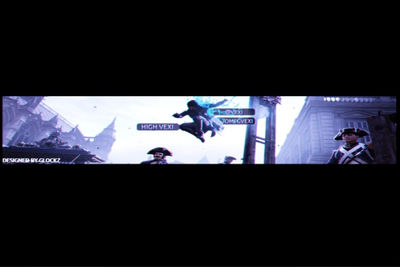 Assassins Creed Youtube Banner By Glockzisreal On Deviantart