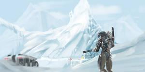 Noveria - Mass Effect by LoginovLS