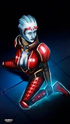 Samara - Mass Effect by LoginovLS
