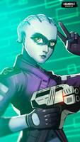 Peebee - Mass Effect by LoginovLS