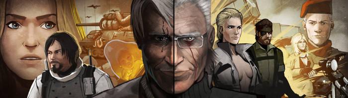 Death Stranding/ Metal Gear Solid 3 by LoginovLS