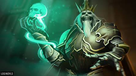 Skeleton King - Diablo III by LoginovLS