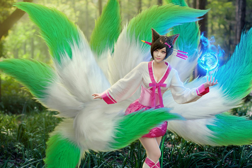 Ahri Cosplay by Princess on DeviantArt
