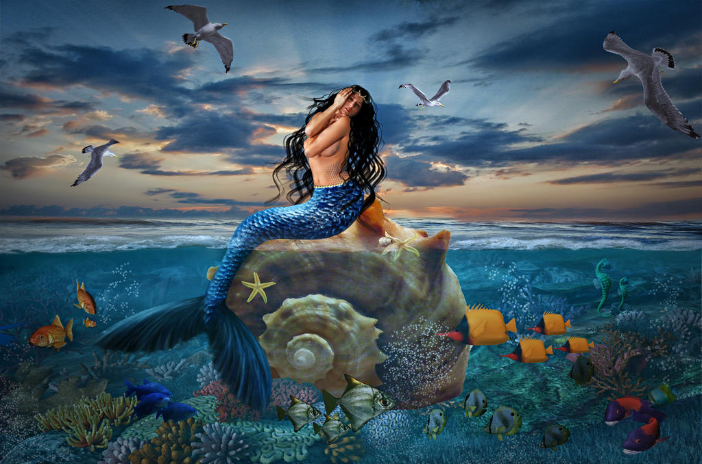 Mermaid by jorince11