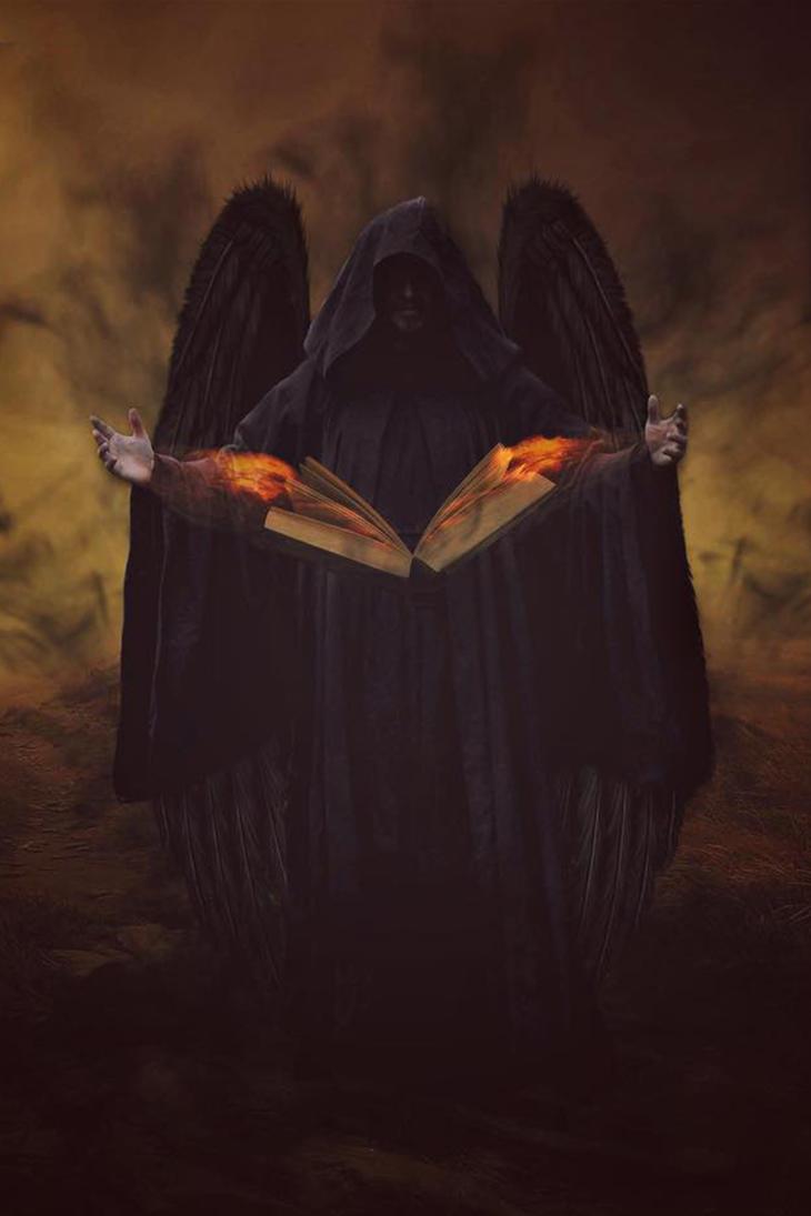 Angel of the Dark Souls by jorince11