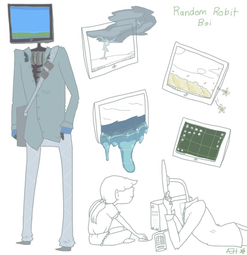 Random Object Head Concept by InsanityCreator