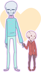Quality Skeleton Husbands by InsanityCreator