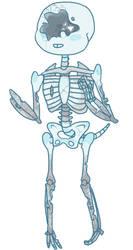 Tortured Blue Full Body (blog stuff) by InsanityCreator