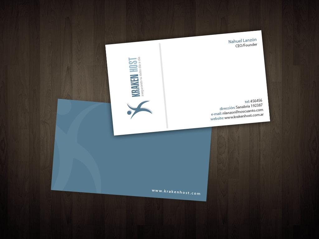 KrakenHost Business Card By LemuriaDesign