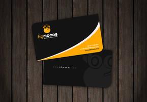 69 Monos Business Card by LemuriaDesign