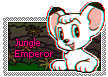 Jungle Emperor Leo / Kimba Stamp by Schmidte17