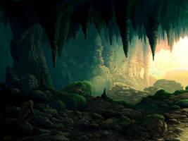 dragon jaws cave by VityaR83