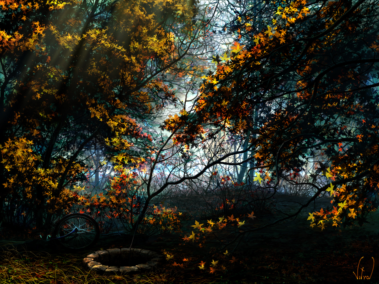 golden autumn by VityaR83