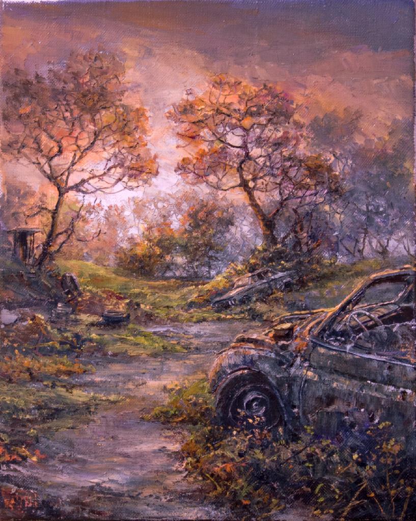 scrap yard by VityaR83