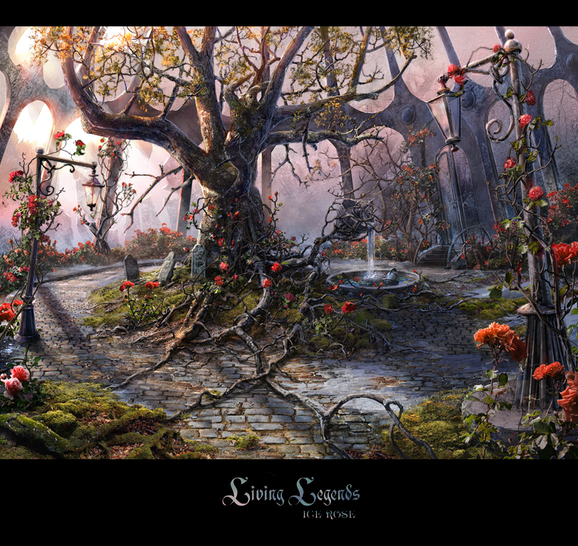 Winter Garden By VityaR83 ...