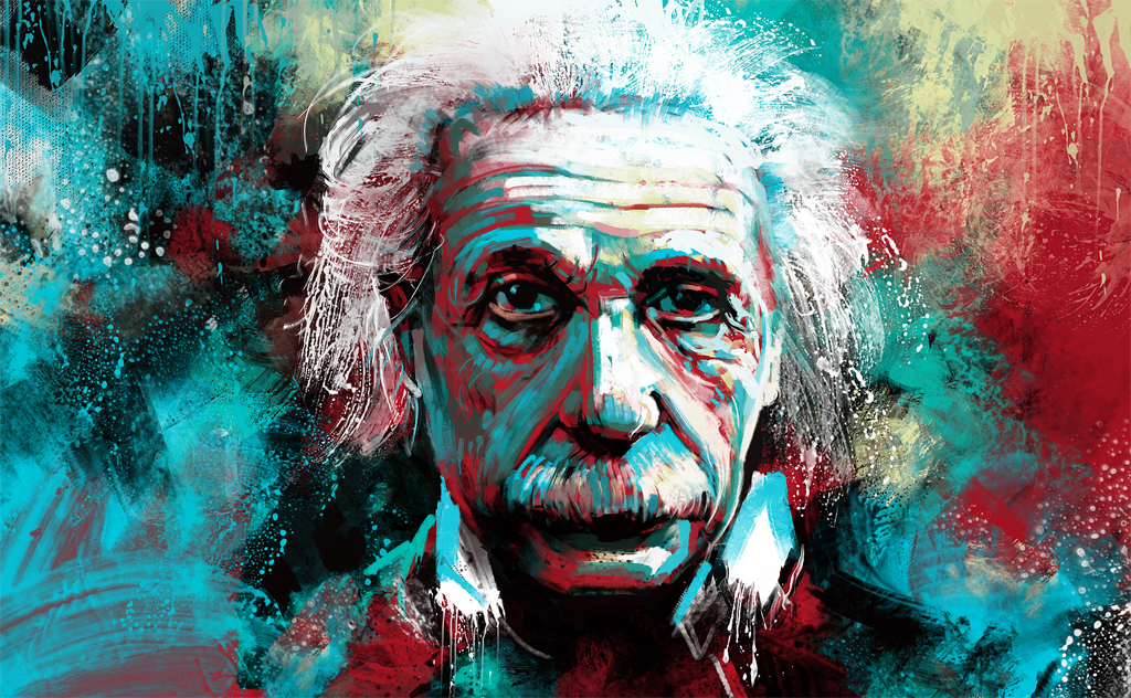 einstein by VityaR83