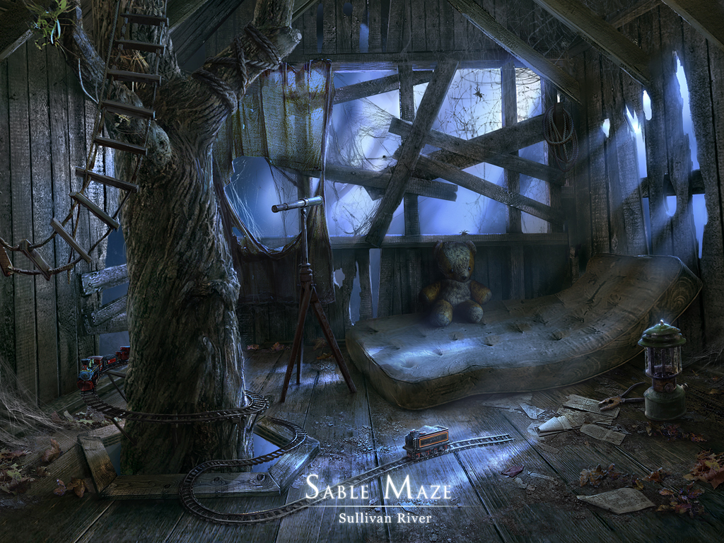 inside treehouse by VityaR83