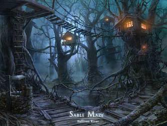 treehouses by VityaR83