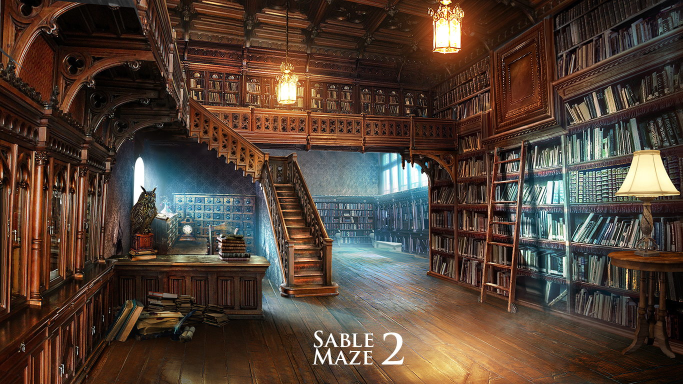 library by VityaR83