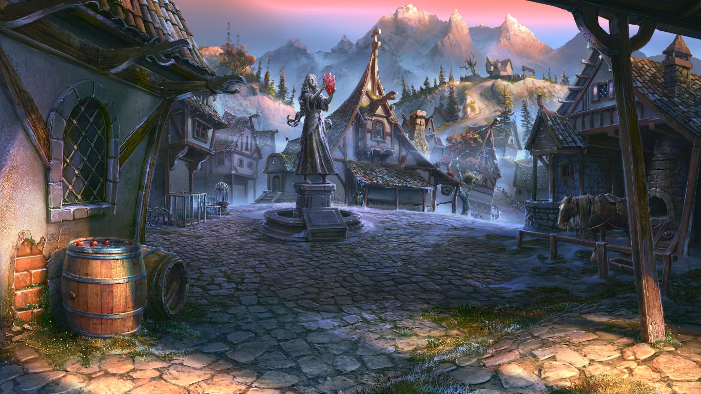 Images des lieux [En cours] Village_by_vityar83-d8f9uxv