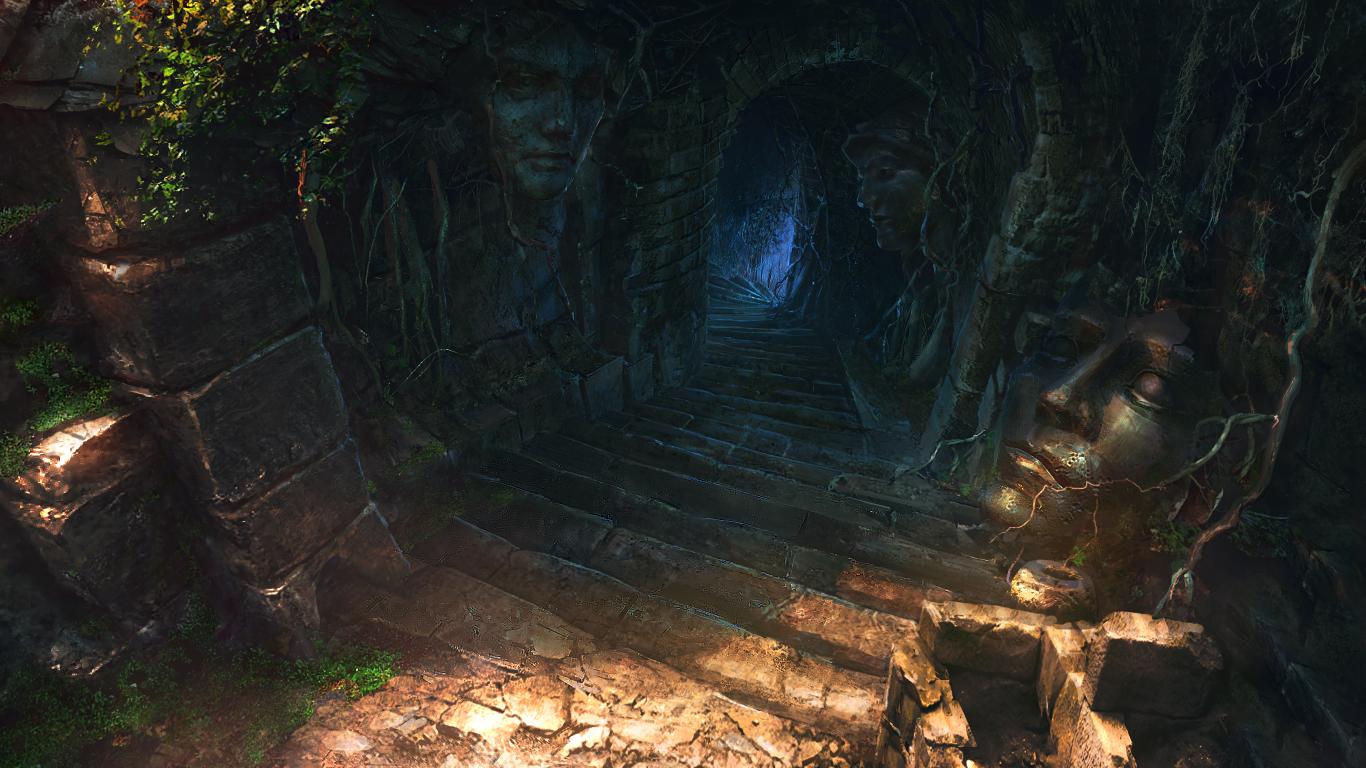 Bodega y Subterraneo Steps_to_dungeon_by_vityar83-d9u7oxs