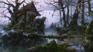 witch house (winter)