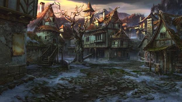 village square by VityaR83