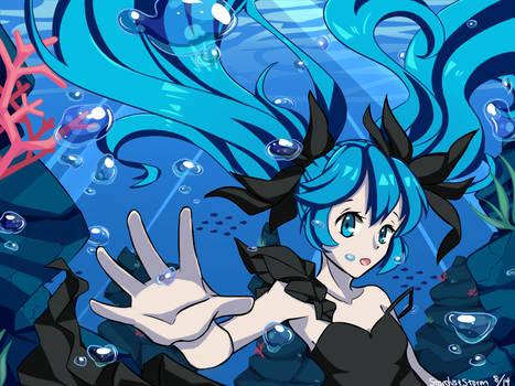 Deep Sea Girl by StardustStorm