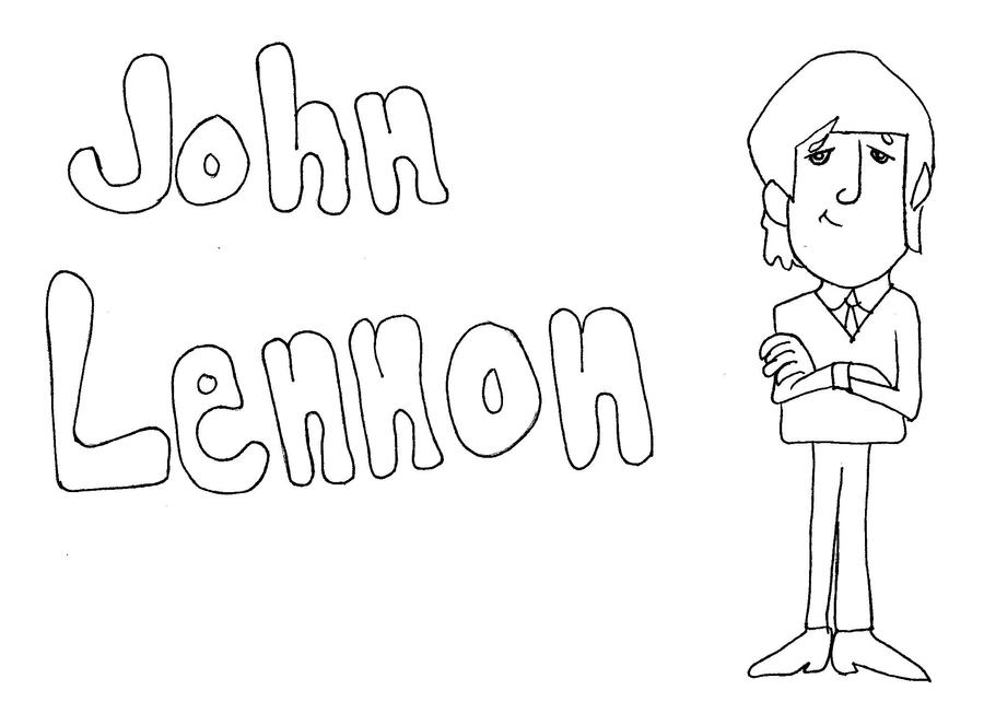 beatles coloring pages
