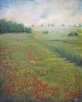 Red flowers by Kolorita
