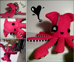 Pirate Squid Plush.
