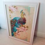 Peacock Cross Stitch
