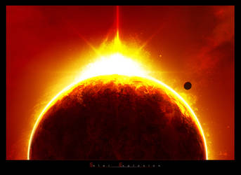 Solar Explosion by Xiion
