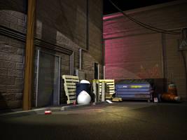 Dark Alley by WickedAwsome
