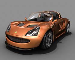 3D Car Model by WickedAwsome