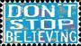 Don't Stop Believing Stamp by CassieCros13