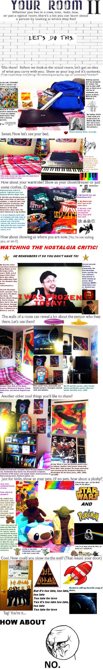 My Room Meme II by CassieCros13