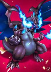 TOUGH CLAWS MEGA CHARIZARD!!! by CHOBI-PHO