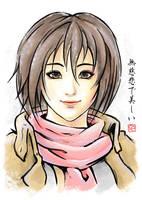 The Merciless and Beautiful - Mikasa Ackerman by CHOBI-PHO