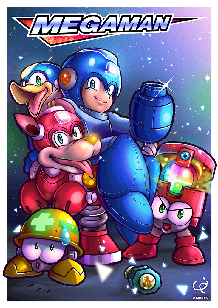 ENTER THE BLUE BOMBER!!!~ by CHOBI-PHO