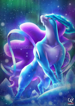 SUICUNE AND THE NORTHERN LIGHTS