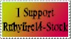 I support Rubyfire14 Stock by Rubyfire14-Stock