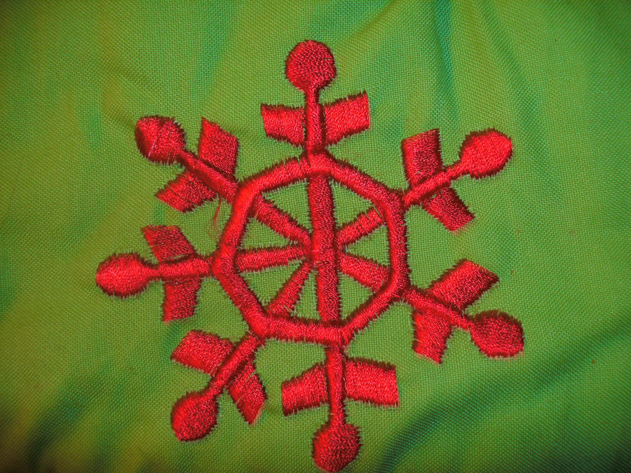 Red Snowflake by Rubyfire14-Stock