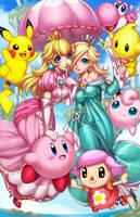 Super Smash Cuties by Blushy-Pixy